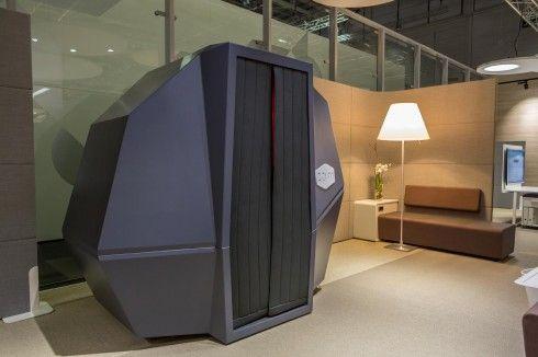 Google dublin pod office napping pod calmspace haworth for Office nap pod