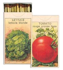 HomArt Large Decorative Seed Packets Matches Match Box Free Shipping Great Gift
