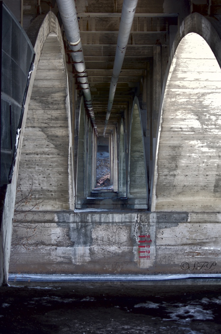 Under the Broadway Bridge, Saskatoon, Sk