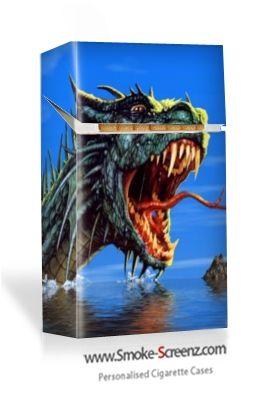 Sea Monster - personally designed cigarette case from Smoke Screenz