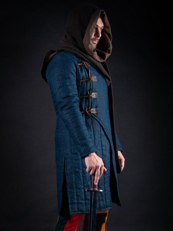 Medieval SCA Reenactment Aristocrat Chevalier Cosplay Costume Applique Tops