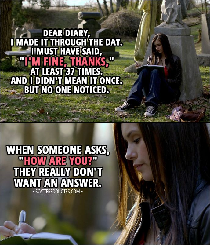 10 Best The Vampire Diaries Quotes From Pilot 1x01 With