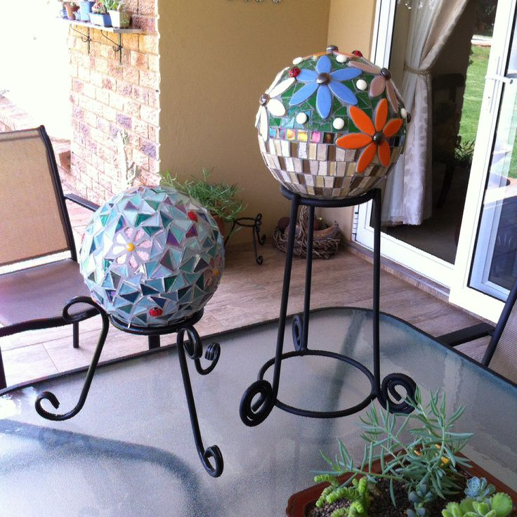 Gazing balls