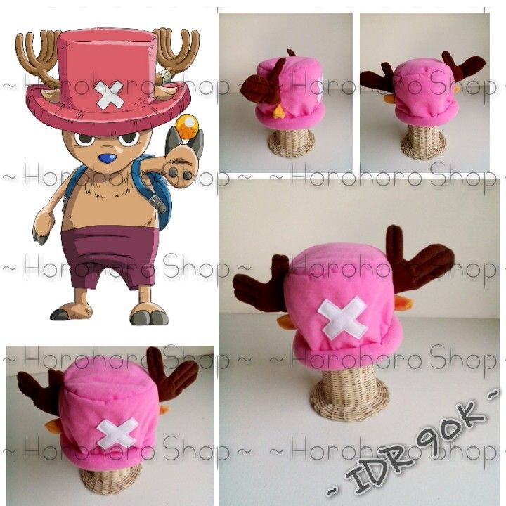 """Chopper's Hat """"one piece""""~before time skip~ IDR 90K exclude ongkir"""