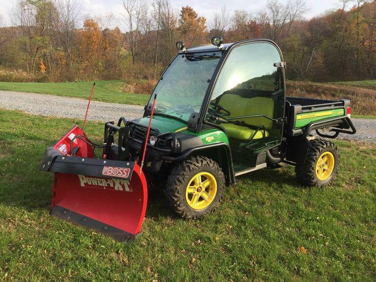 2013 John Deere Gator 4x4 with snow plow