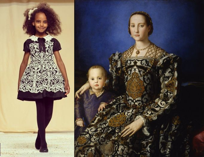 QuisQuis Aw14 Bronzino, Eleonora di Toledo con il figlio Giovanni