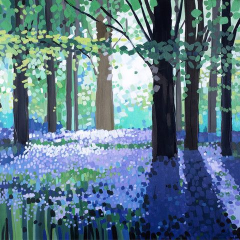 Bluebell Light by Janet Bell – Janet Bell Gallery