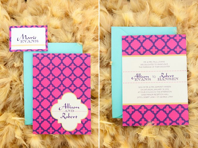 Princess Jasmines Arabian Wedding Invitation Less Pink And Maybe A Foil Gold Trim Around