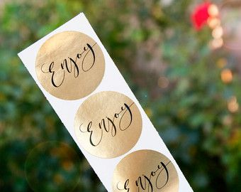 His/Hers Wedding Favor Stickers  Wedding Favors Shower