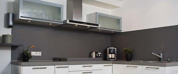 Aluminium keuken achterwand van bokmerk