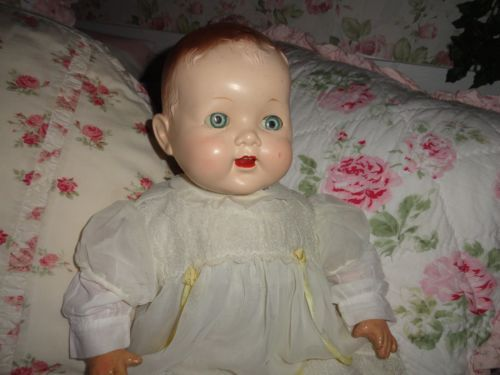 813 best Vintage 1940's, 50's & 60's Baby Dolls images on ...