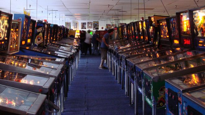 For the most part, a pinball machine is just a pinball machine. To some folks, though, it's a kinetic monument to a simpler time when mindless entertainment did