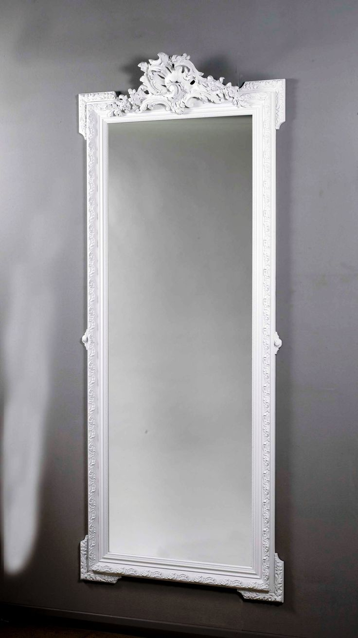 Buy vancouver expressions linen mirror rectangular online cfs uk - White Wall Mirror Full Length
