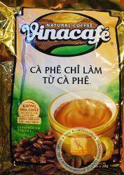 VINACAFE 3 in 1 - быстрорастворимый натуральный вьетнамский черный кофе - 20 пакетиков в упаковке. Вьетнам.