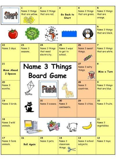 106 Best Esl Board Games And Speaking Activities Images On -4402