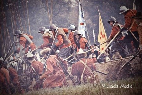 MICHAELA WECKER Photography - Fotoalbum - Vojenská historie - Třicetiletá válka - Slag om Grolle 2012 - SoG_2012_036
