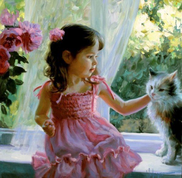 My Little Kitty.  Vladimir Volegov.