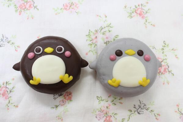 Super Cute Penguin Animal Doughnuts