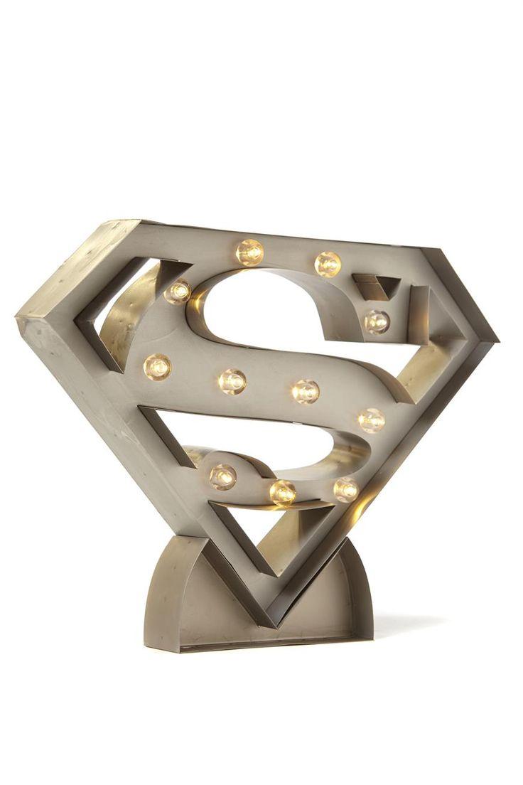 superman marquee light