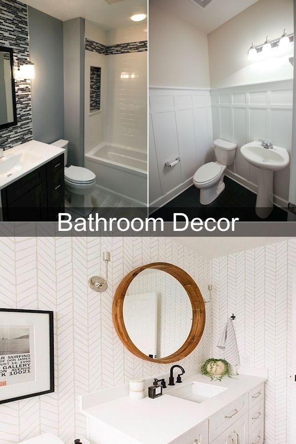 Bathroom Wall Decor Ideas Clear Glass Bathroom Accessories Green And Grey Bathroom Accessories In 2020 Bathroom Decor Gray Bathroom Accessories Fancy Bathroom