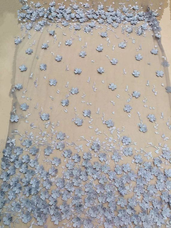 5 yards 3D tessuto di pizzo con fiori, tessuto del merletto nuziale, blu tessuto di pizzo per abito haute couture con fiori 3D in 5 yards 3D tessuto di pizzo con fiori, tessuto del merletto nuziale, blu tessuto di pizzo per abito haute couture con fiori 3Dda   su AliExpress.com | Gruppo Alibaba