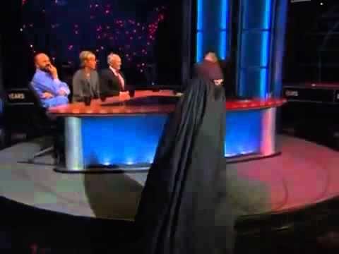 Bill Maher Burka fashion show