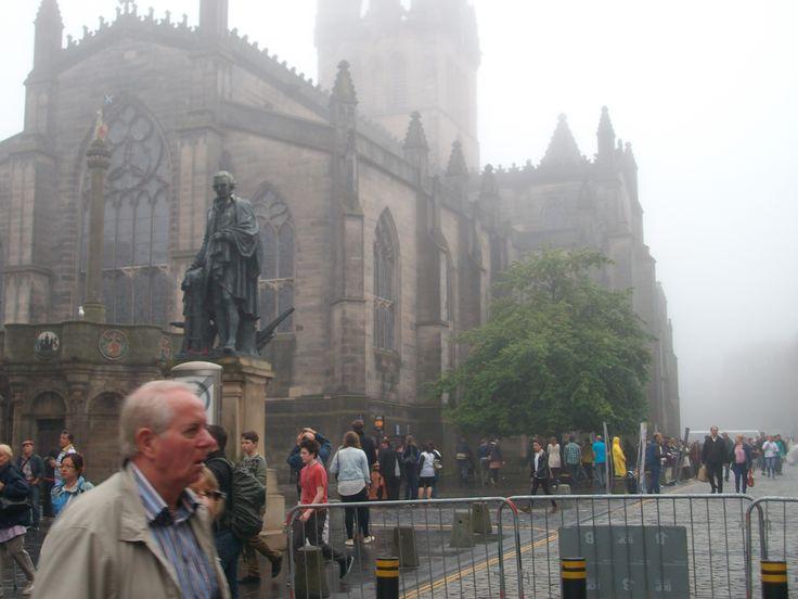 #gothic #foggy #edinburgh #scotland