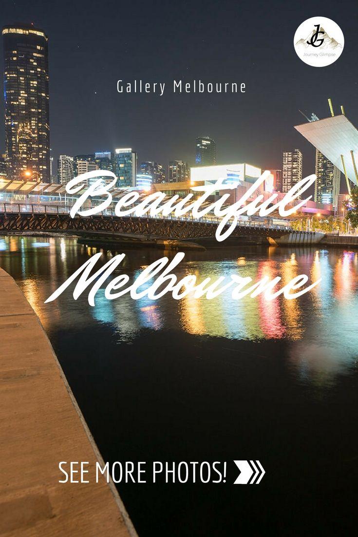 Die australische Stadt Melbourne hat einen ganz besonderen Charme. Vor allem in der Nacht.
