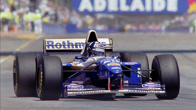 1995 GP Australii (Damon Hill) Williams FW17 - Renault ...