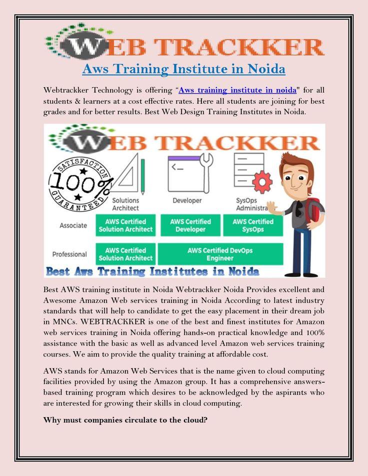 Aws training institute in noida pdf