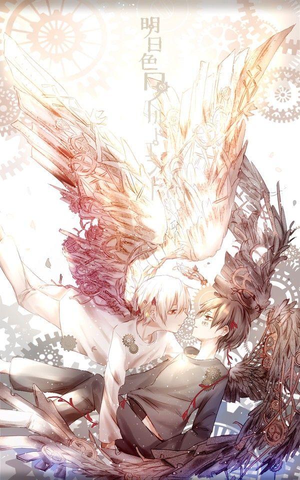 El Angel Caido Anime Game Manga まふまふ イラスト そらまふ
