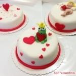 cake design di San Valentino, love