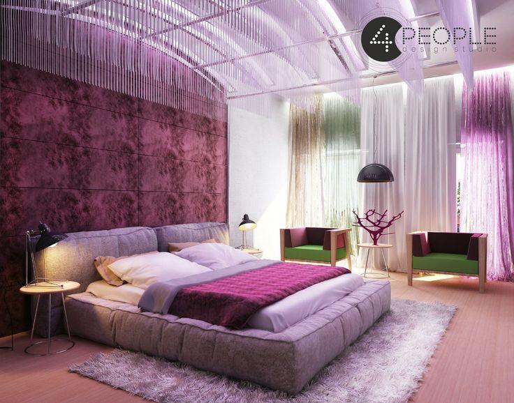 "Дизайн-проект гостиницы ""Вистерия""   Дизайн-студия ""4people"""