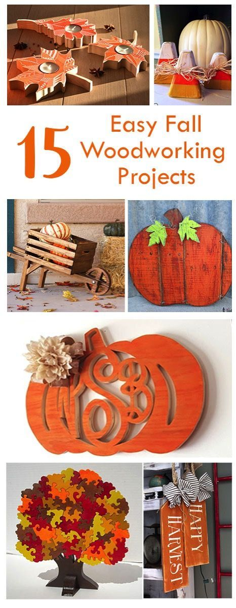 DIY Woodworking Ideas 15 Easy Fall Woodworking Projects