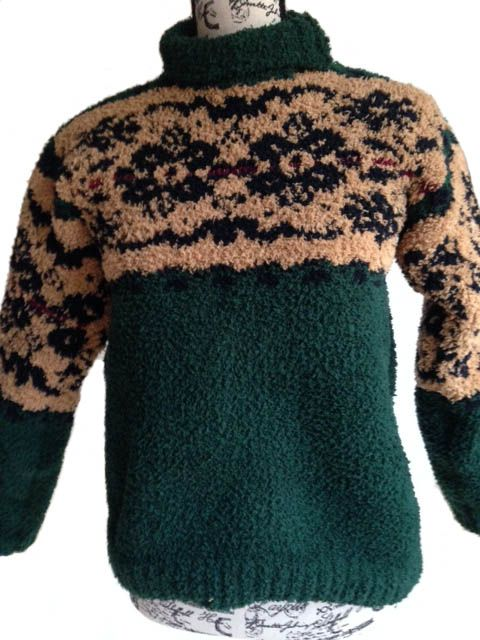 Plush thick and soft winter jumper I designed for an order