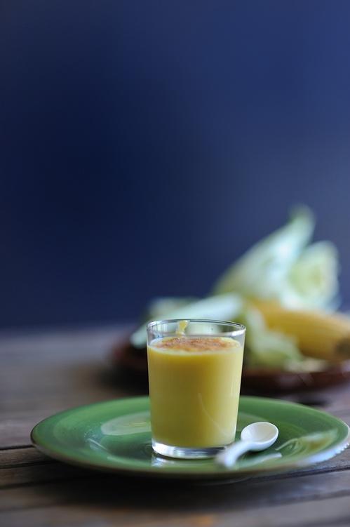 OMG I can never get enough of this!!! El atol de elote (corn beverage from El Salvador)