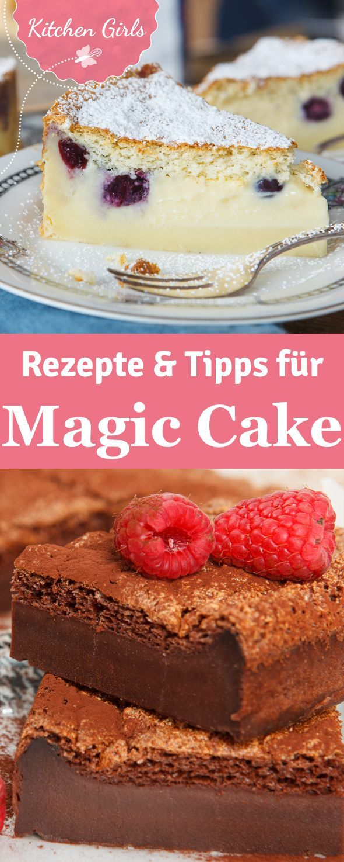 Erfahre was das Besondere an Magic Cake ist!