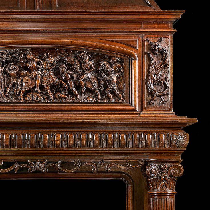 1000 images about frentes de chimenea on pinterest - Frentes de chimeneas ...