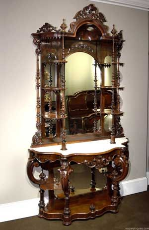 9 best rococo images on pinterest antique furniture for Rococo decorative style