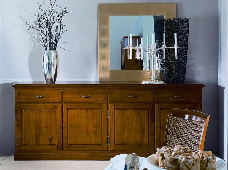 Andichte | Kirsche massiv | Holz | antike Optik - bei Möbel Morschett