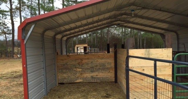 Today my barn stalls are complete, in fact the entire barn is finished.   Devin found a nearby sawmill and purchased some rough cut lumber. ...