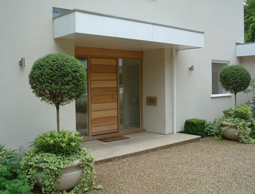 Contemporary Front Door