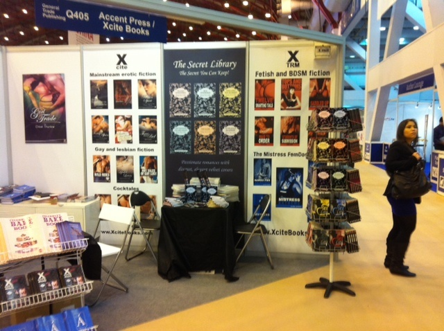 Launching The Secret Library at the London Book Fair 2012