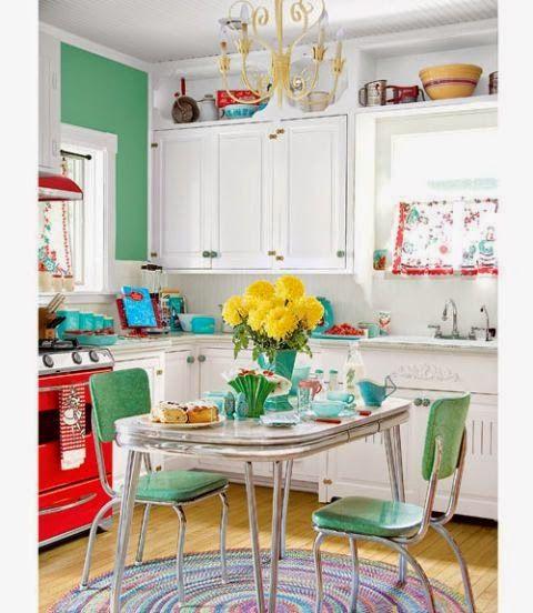 Ιδέες για τα χρώματα της κουζίνας