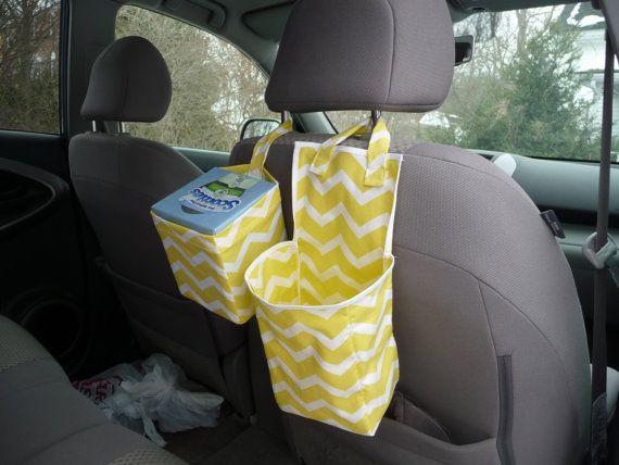 diy car tissue holder easy craft ideas