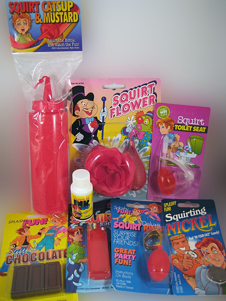 SQUIRT PRANK KIT..... We have assembled eight of our best selling Squirt Pranks in one fantastic prank kit. A clowns ultimate must have set of gags. www.theonestopfunshop.com