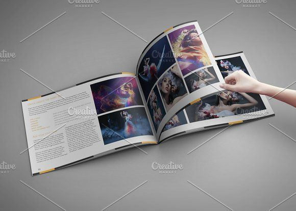 Portfolio - Artbook for Indesign by Spyros Thalassinos on @creativemarket