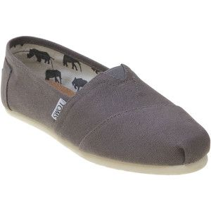 TOMS Women's Canvas Classic Casual Slip-On