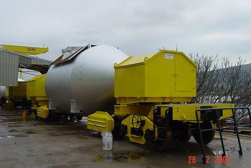 INSISA - Carros Torpedo boilermaking, steel tanks, steel structures