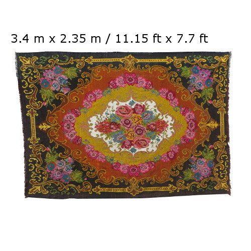 ENVÍO GRATIS Alfombra kilim bereber 11 x 7 alfombra